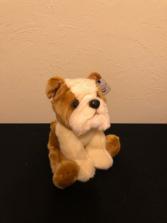 Bulldog Puppy Stuffed Plush