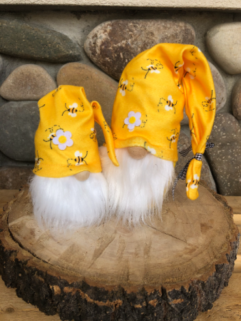 Bumble Bee Gnomes (lg & sm)