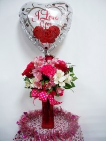 Bunches of Love Flower Arrangement