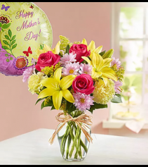 Bunches of Love for Mom Arrangement