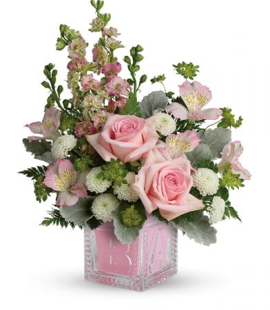 Bundle Of Joy Bouquet All-Around Floral arrangement