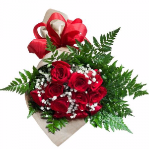 BUNDLE OF RED Rose Wrap in Biloxi, MS | Rose's Florist