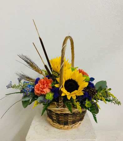 Bundles of Brights Flower Arrangement