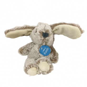 "Bunny Baby Rattle - 6.5"" Add-On"