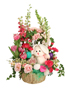 Bunny Blooms Basket Arrangement