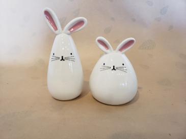 Bunny bud vases