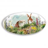 Bunny Hollow Platter Michel Design Works