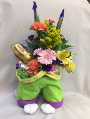 Bunny Pants Bouquet  in Milwaukie, OR   MARY JEAN'S FLOWERS & GIFTS