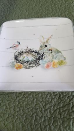 Bunny Plate Gift
