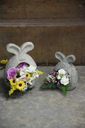 Bunny Set Ceraminic Containers