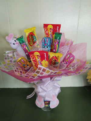 Bunny's Sweet Surprise Candy Vase in New Wilmington, PA | FLOWERS ON VINE