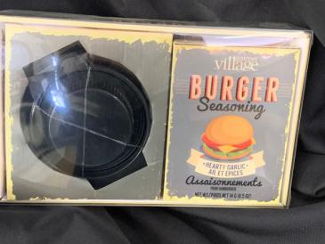 Burger Set (Press and Seasoning) Gourmet Food
