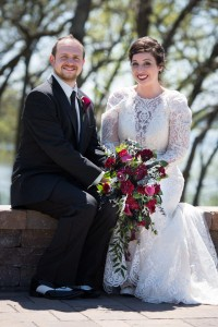 Burgundy & Black wedding Photo Cred: Justin Baysinger Photography