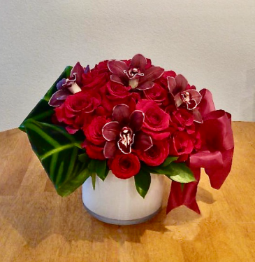 Burgundy Bliss Floral Design