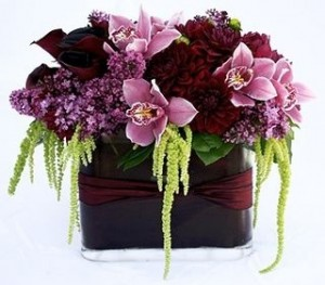 Burgundy Brillance  in Aliso Viejo, CA | Lily Fiore Floral Boutique