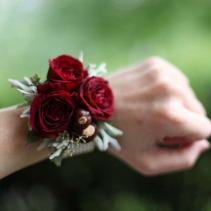 Spray Rose Wristlet Corsage