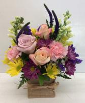 Burlap & Blooms