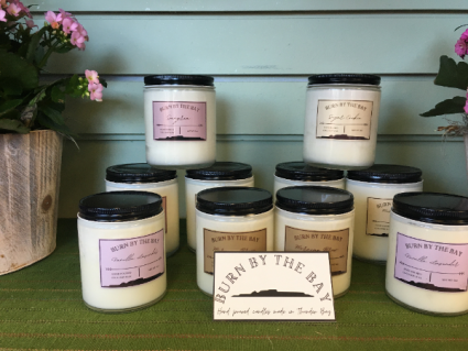 Burn  By the Bay Candles