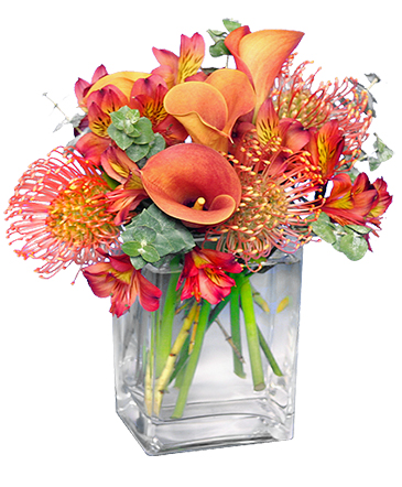 BURNT SIENNA Flower Arrangement