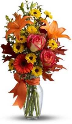 Burst Of Autumn  in Oakdale, NY | POSH FLORAL DESIGNS INC.
