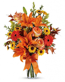 Burst of Autumn Arrangement