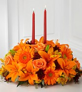 Burst Of Autumn Centerpiece