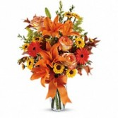 Burst of Autumn Fall Floral Bouquet