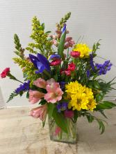 Burst of Blooms Arrangement