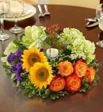 Burst of Color Enchanted Florist Centerpiece
