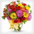 Burst of color Vase Arrangement