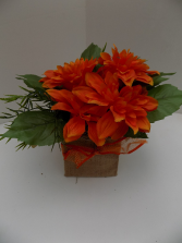 Burst of Fall Silk Arrangement