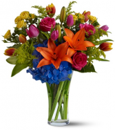 Bursting Colours Flower Arrangement