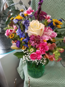 Bursting Prairie Blooms Bouquet Arrangement