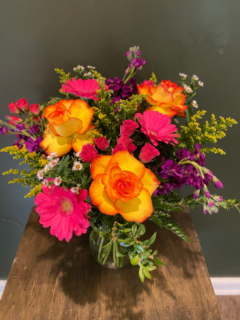 Bursting with Love Vase