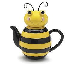 burton + Burton Bumble Bee Tea Pot in Cincinnati, OH | FLORIST OF CINCINNATI