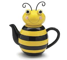 burton + Burton Bumble Bee Tea Pot