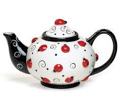 burton + Burton Lady Bug Tea Pot
