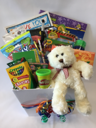 Busy Kids Box Gift basket