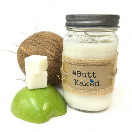 Butt Naked Candle