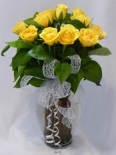 BUTTERCUP -  YELLOW ROSES Premium Yellow Roses, Rose Bouquets, Prince George BC Roses