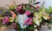Butterfly Basket oblong basket arrangement