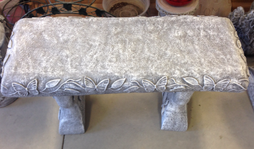 Butterfly Bench Concrete