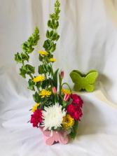 Butterfly Bouquet Fresh Arrangement