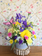 butterfly breeze arrangement