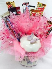 Butterfly Candy Dish  Candy Bouquet
