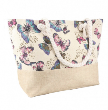 Butterfly Canvas Tote