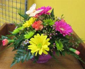 Butterfly Centerpiece Inspirations original design in Lock Haven, PA | INSPIRATIONS FLORAL STUDIO