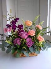 Butterfly Flower Basket
