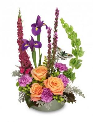 Butterfly Garden Bouquet in Prescott, AZ | PRESCOTT FLOWER SHOP