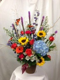 Butterfly garden  Arrangement
